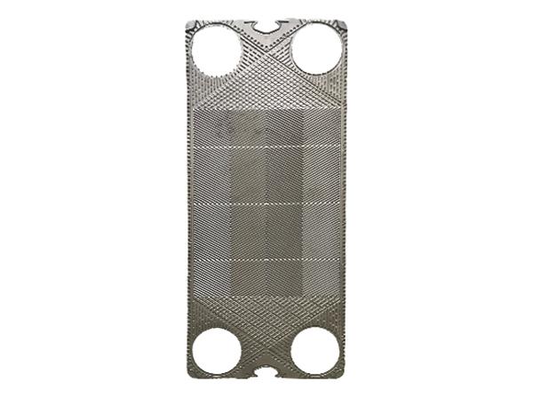 换热器板片容易改变换热面积流程组合